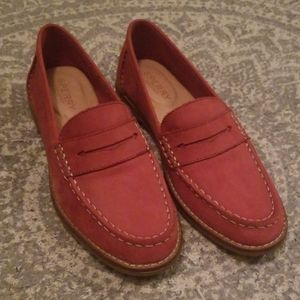 Seaport Penny Loafer | Red